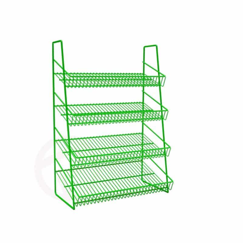 4 Tier mini wire shelf