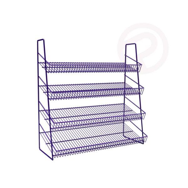 4 Tier mini wire shelving
