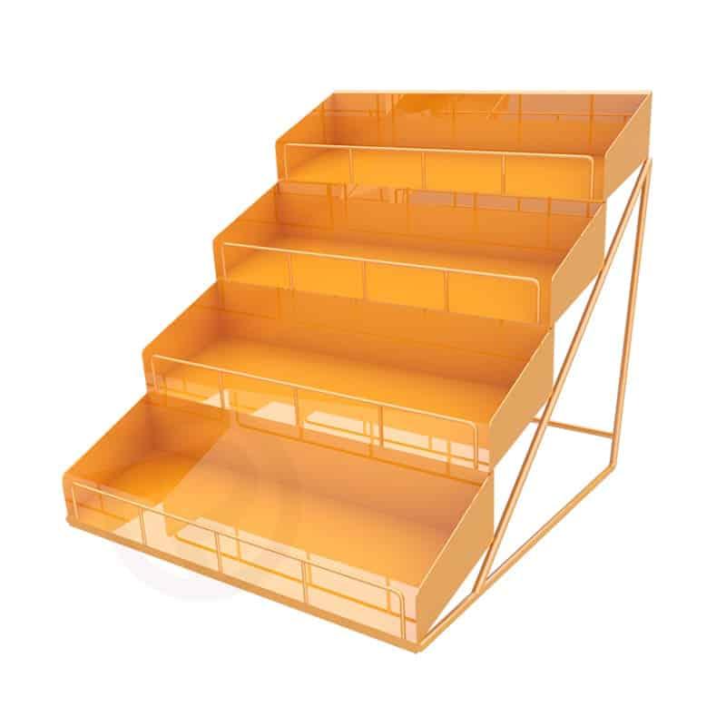 Nail polish mini shelf Orange