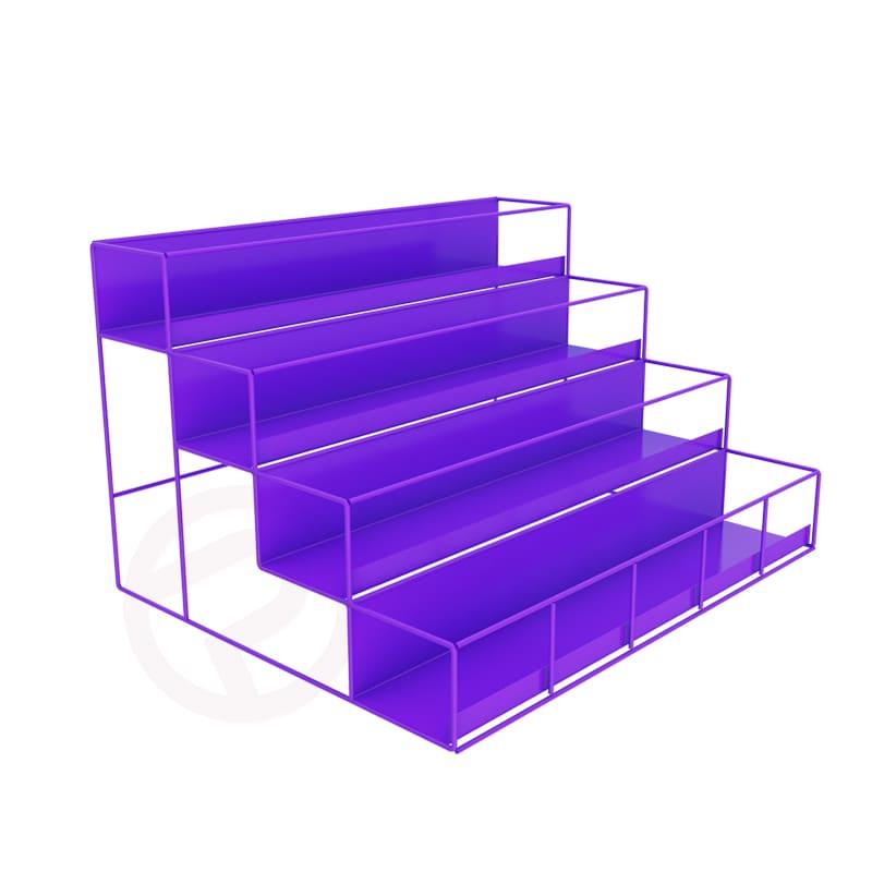 Nail polish mini shelf display