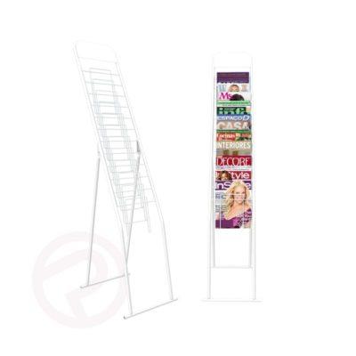 Pre book4 tier magazine stand