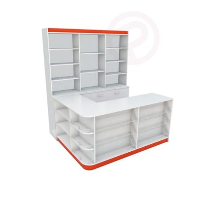 per designed counters right 1800mm