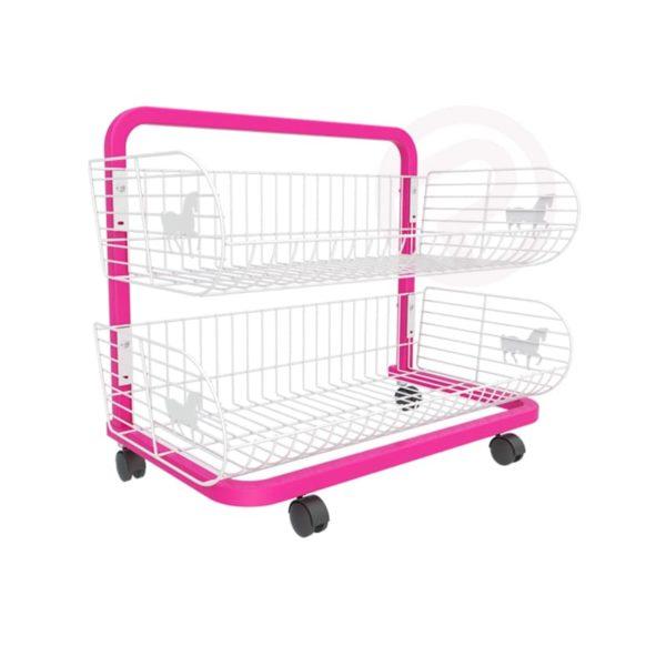 2 Pony Basket shelf frame shelves 72