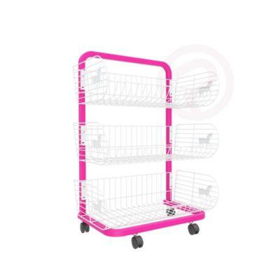 3 Pony Basket shelf frame shelves 58