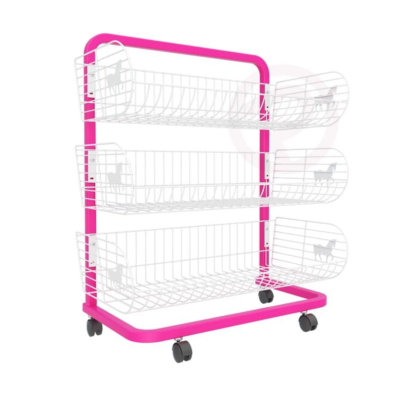 3 Pony Basket shelf frame shelves 72