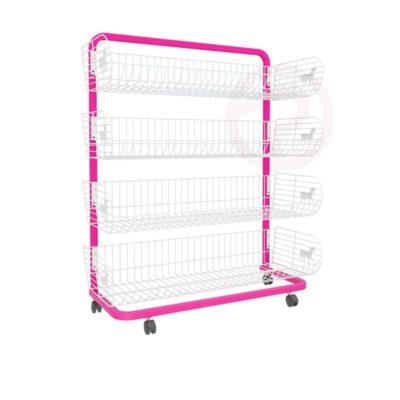 4 Pony Basket shelf frame shelves 90
