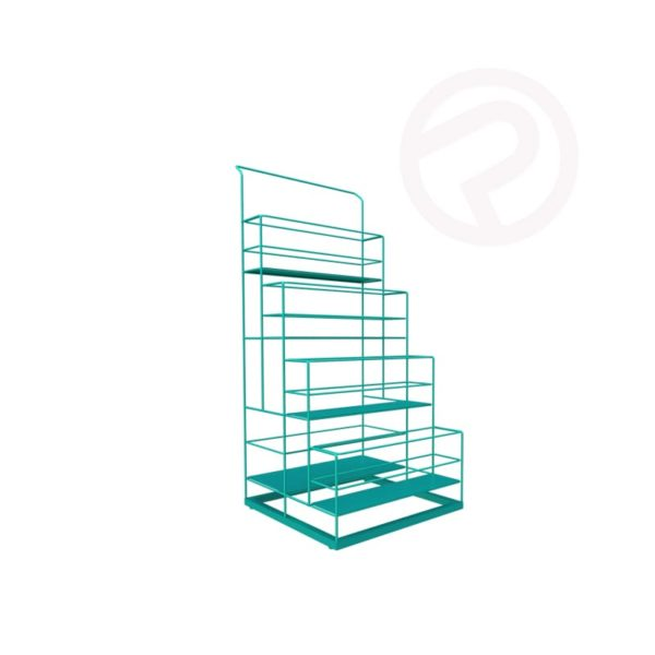 4 Tier wire Bottle Display