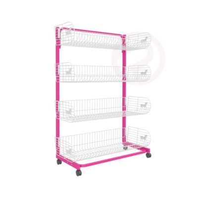 4 tier pony basket Shelf post 90