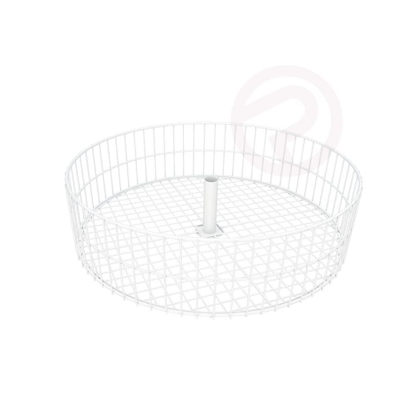 4 tier round basket