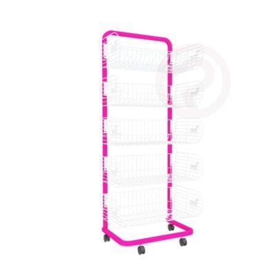 5 Pony Basket shelf frame shelves 58