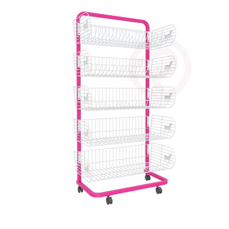 6 Pony Basket shelf frame shelves 72