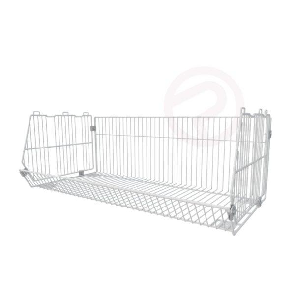Complex basket shelf type I store retail