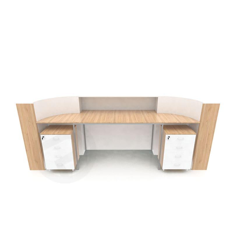 Counter reception shelf