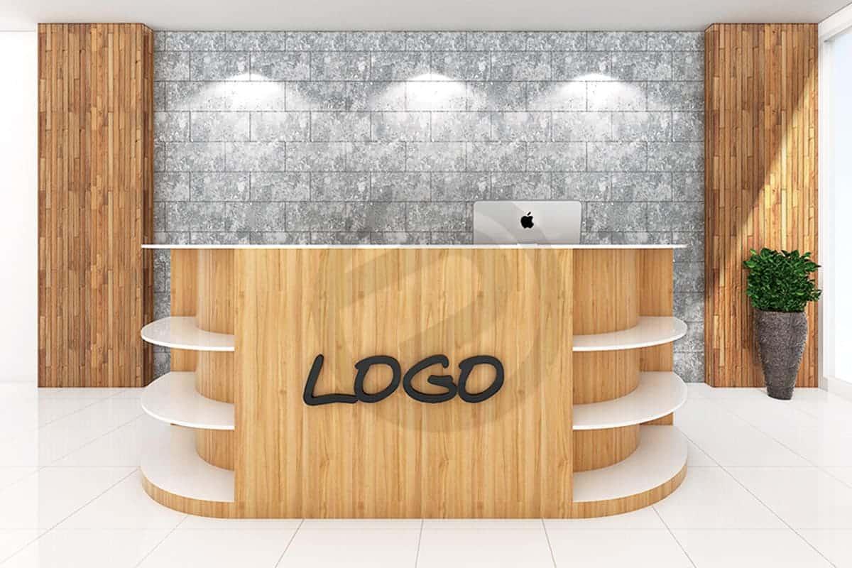 Design counter shelving