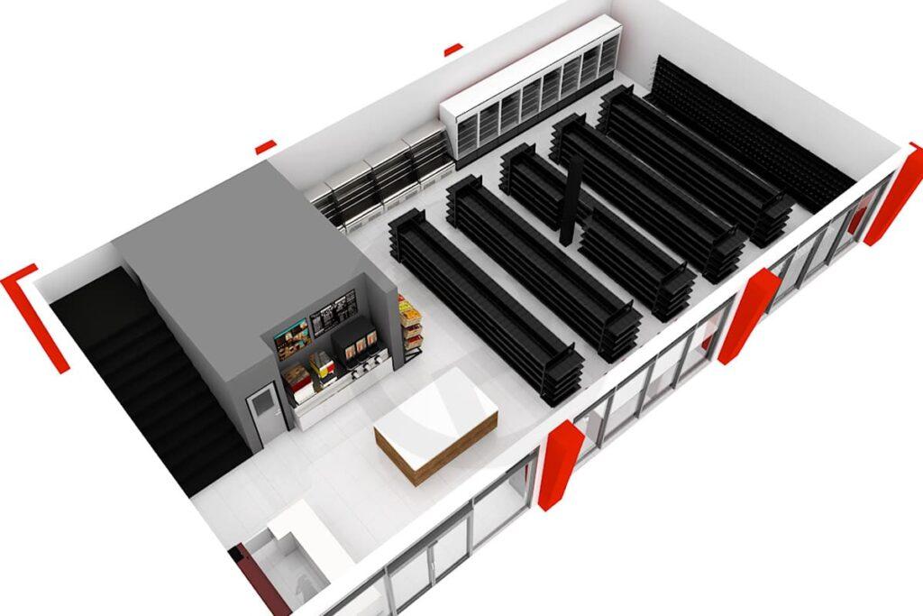 Design plan shelf