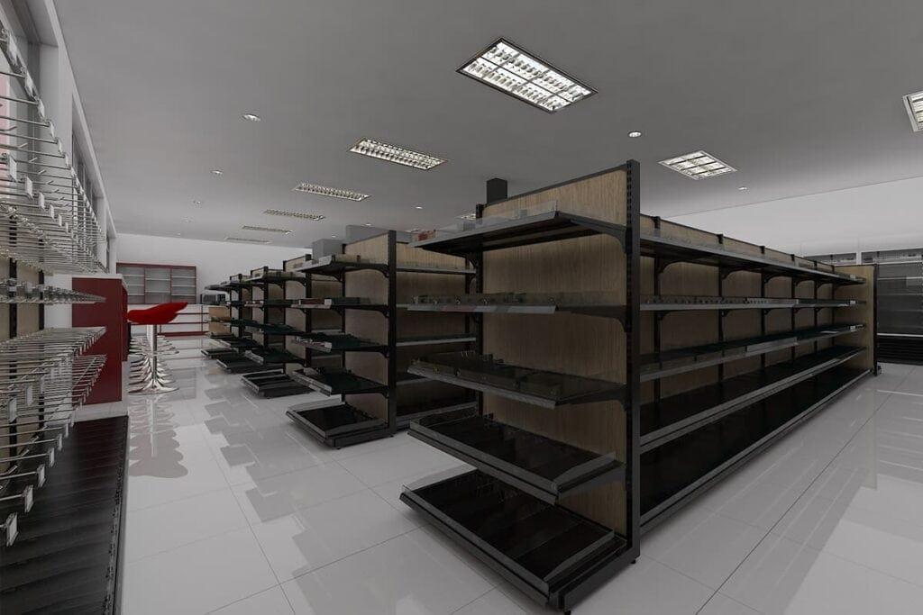 Design shelf supermarket
