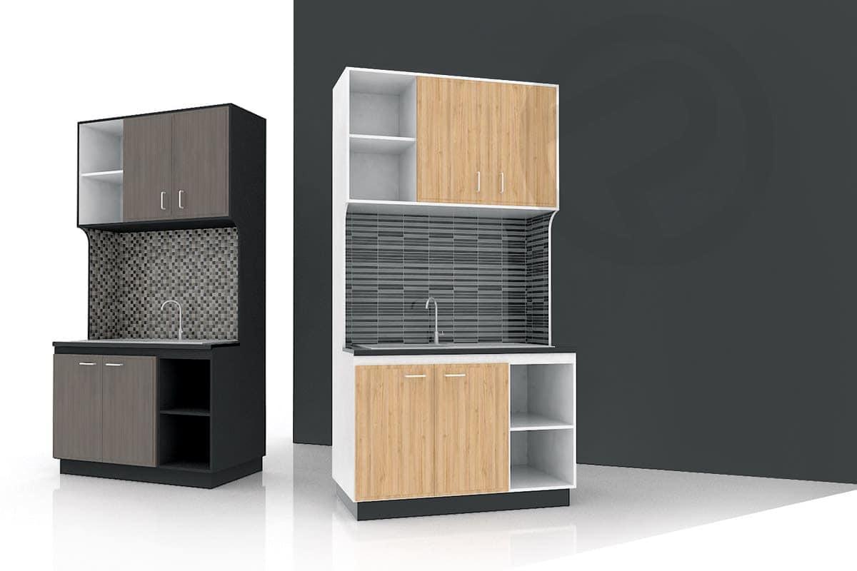 Design shelving kitchen