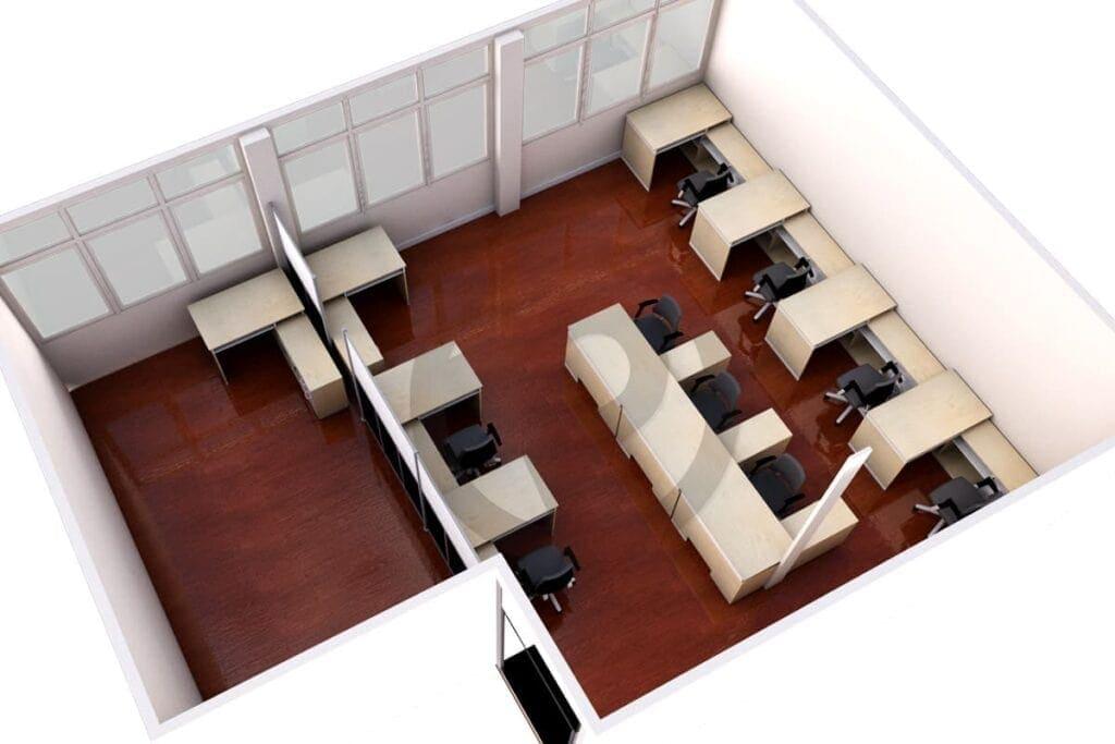 Design shelving office