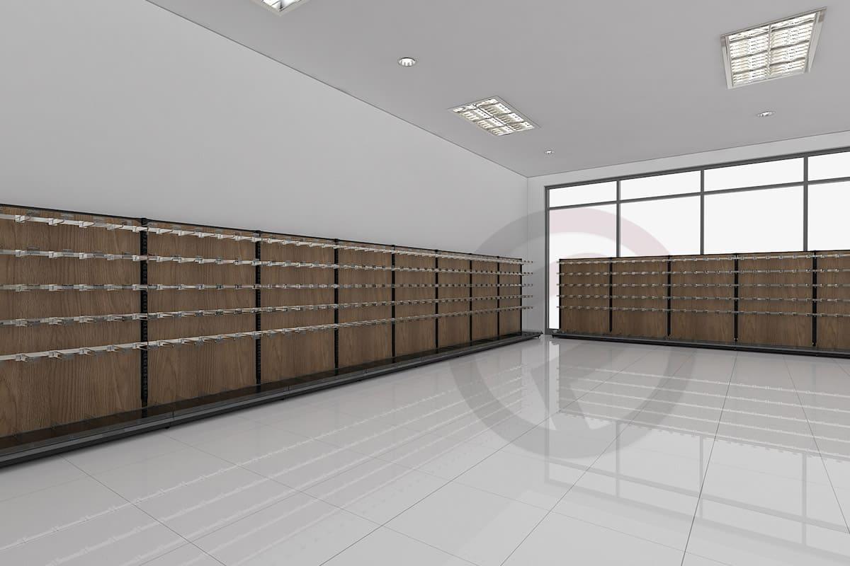 Design shelving store