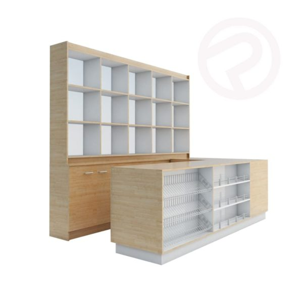 Made to order counter pharmacy