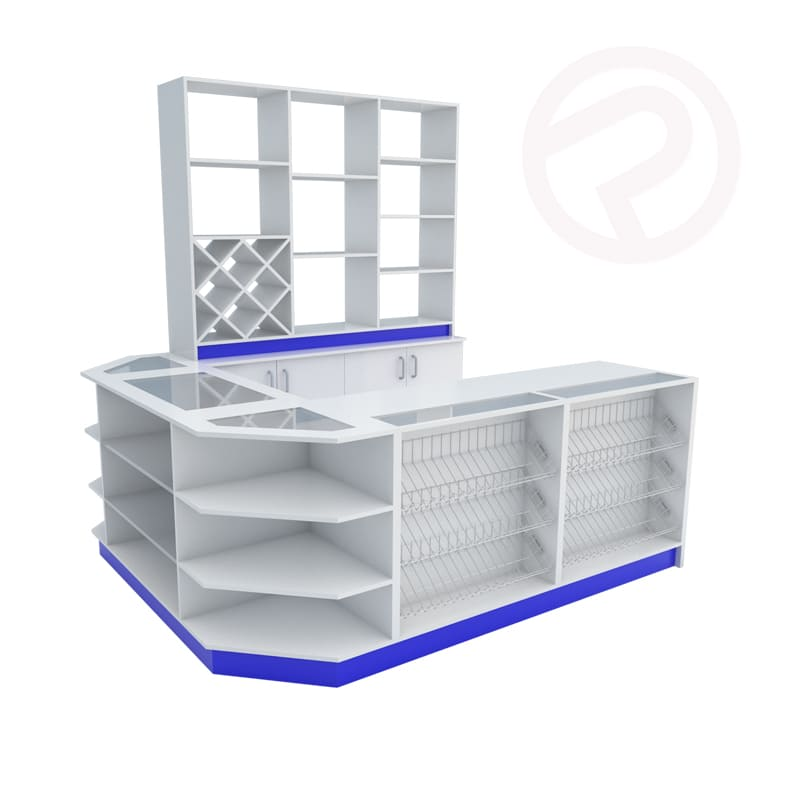 Made to order counters supermarket
