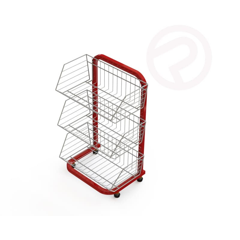 Mini 3 Tier Basket Shelf
