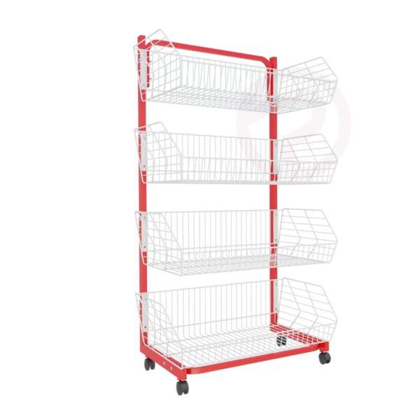 Robust Basket Shelf