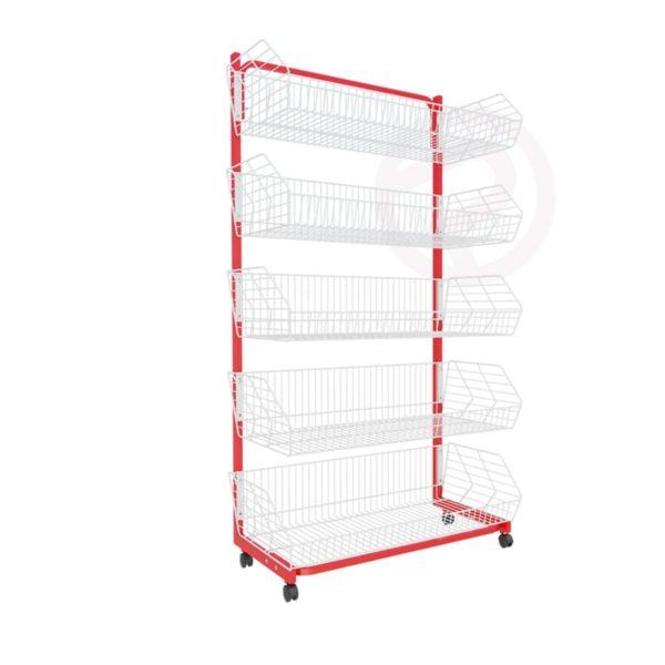 Robust Basket Shelf retail store
