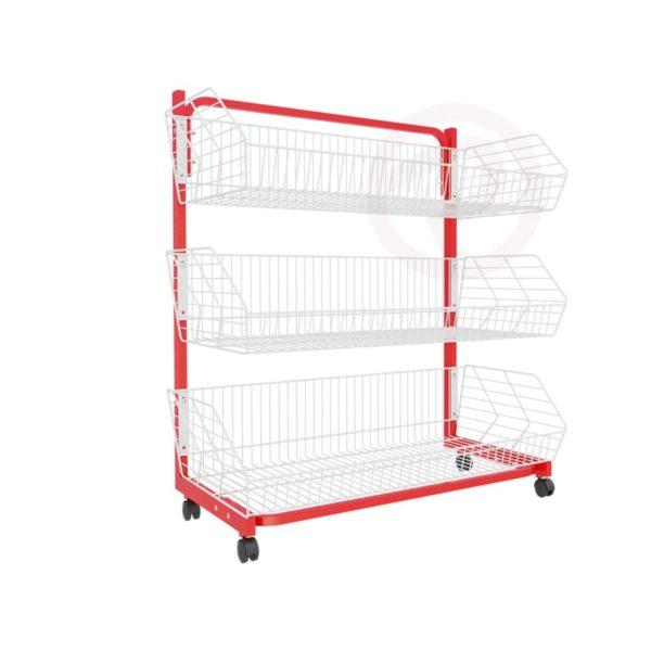 Robust Basket Shelf supermarket