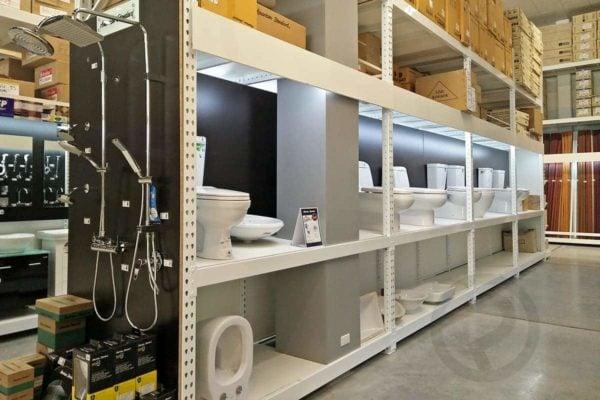 Sanitary display shelves product 1