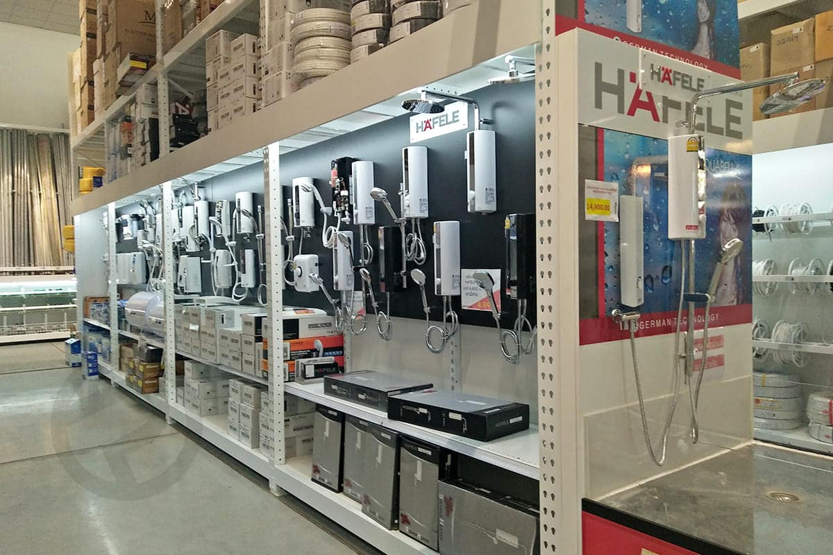 Sanitary display shelves shelves 1