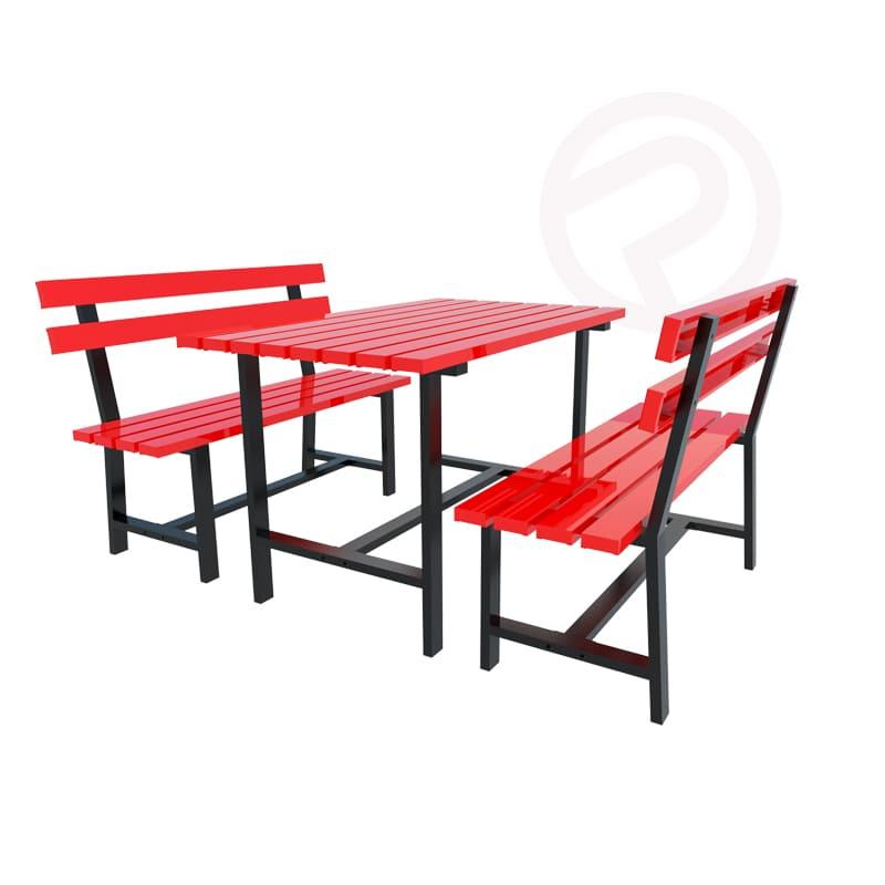 Set Metal outdoor furniture