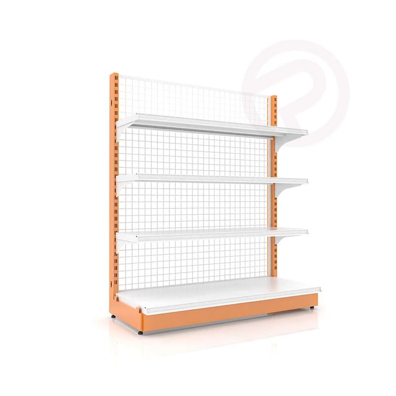 Shelves supermarket shelf