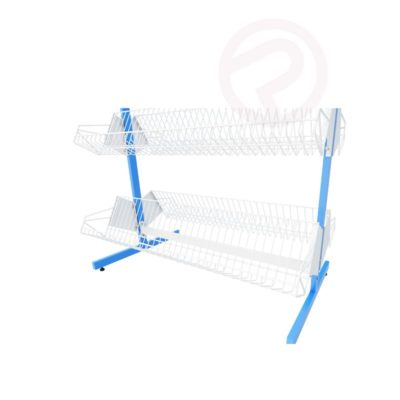 Shelving 3D product shelf steel