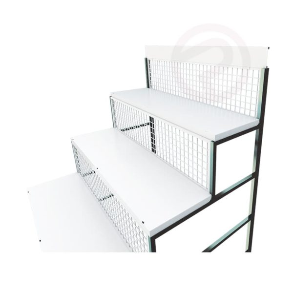 Shelving staircase
