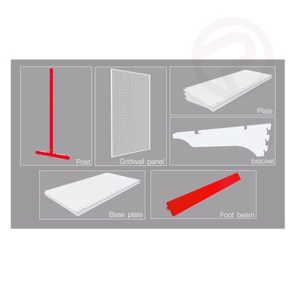 Shelving wire product