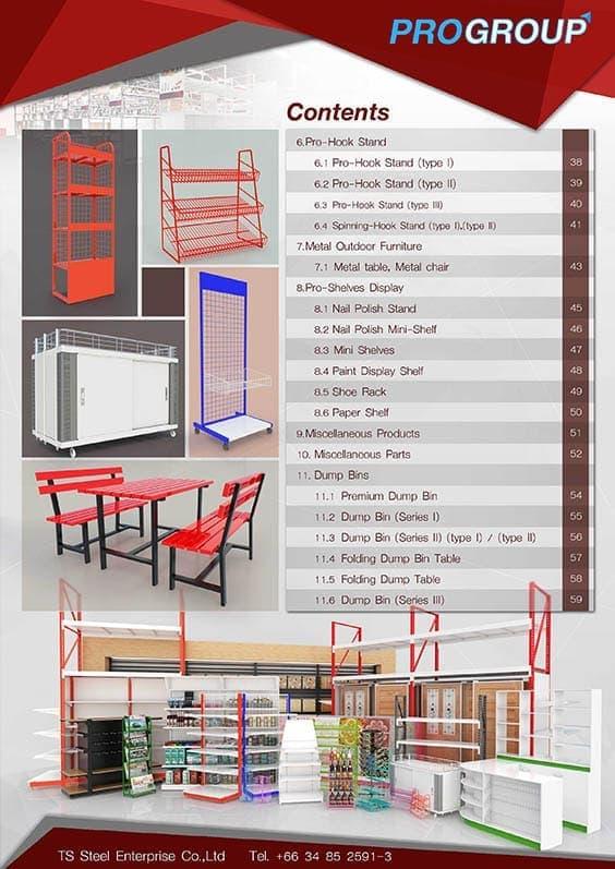 catalog contents catalog
