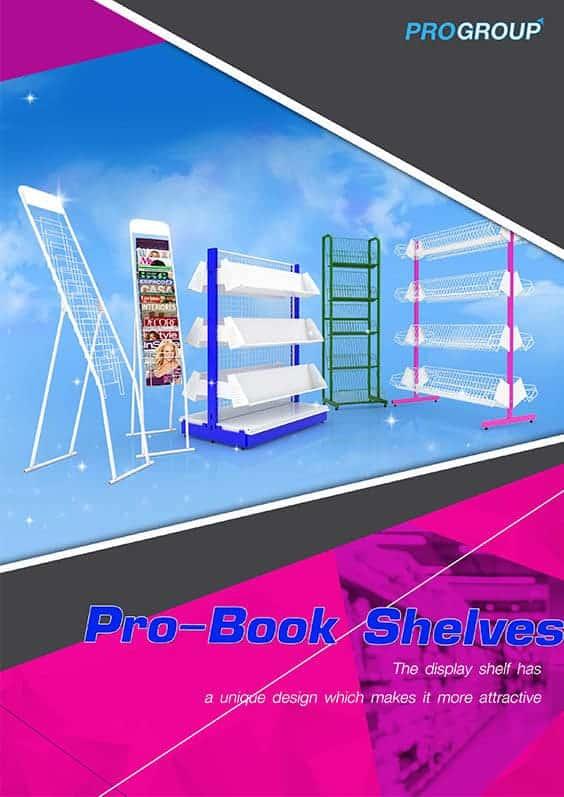 catalog pro book shelves