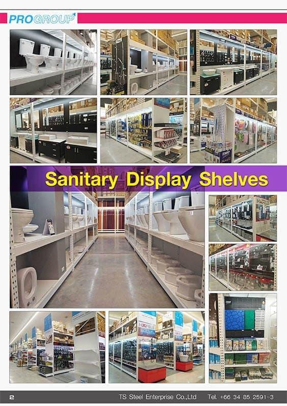 catalog sanitary Display