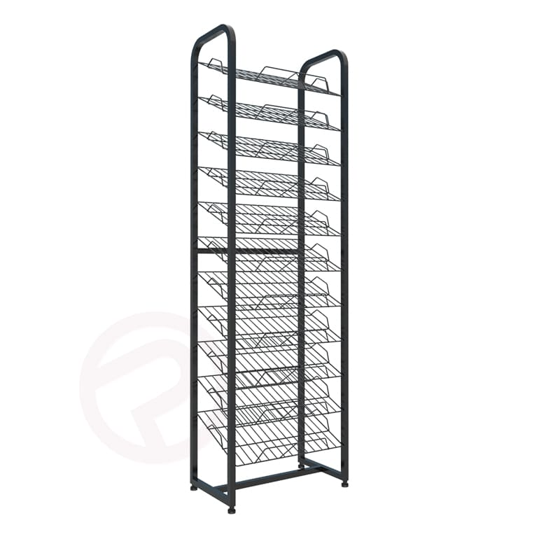 paper shelf supermarket wire product