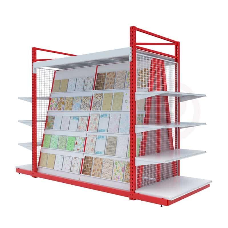 shelves made Tile product display