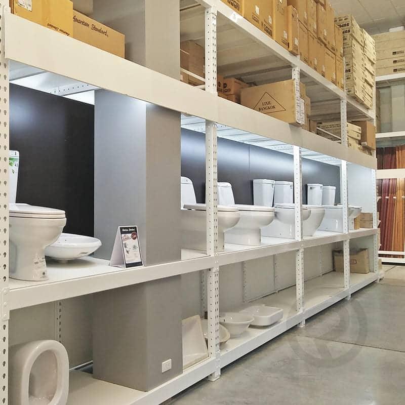 shelvign store sanitary display shelves