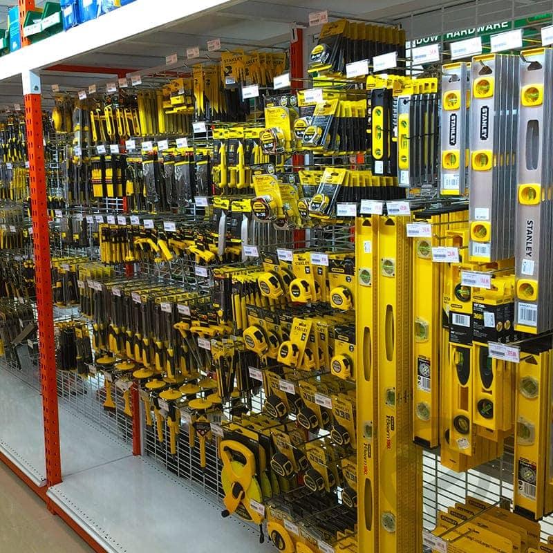 shelvign store tool shop